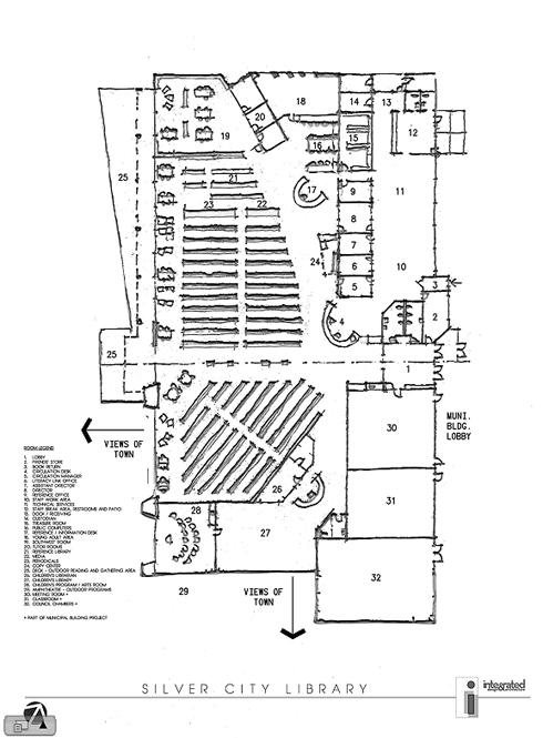 Library Floor