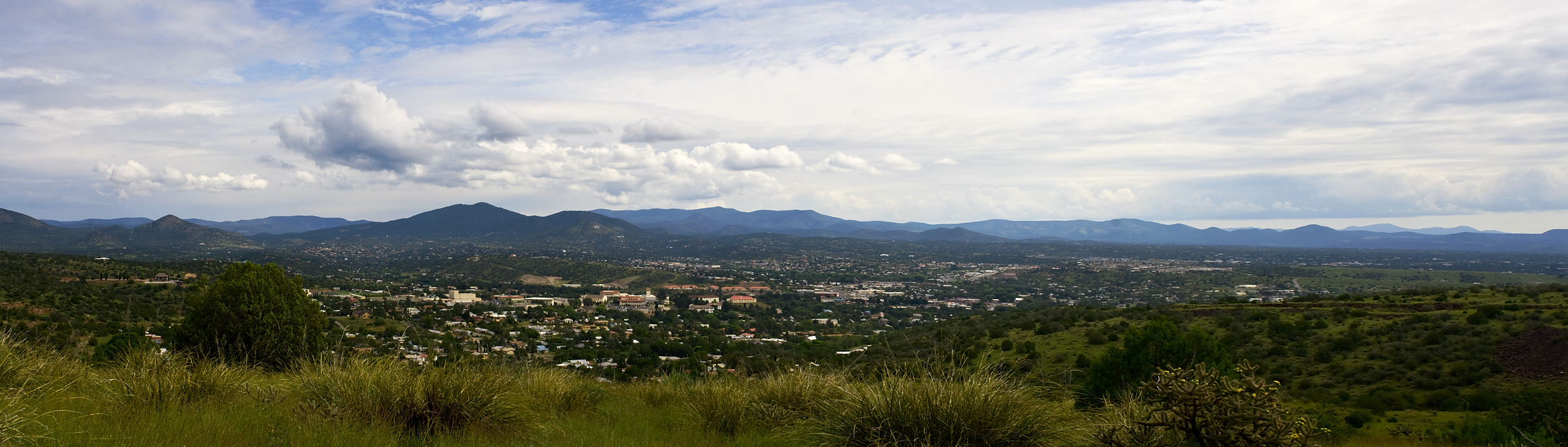 Click images for larger version - Silver City New Mexico From One Of My Favorite Vistas