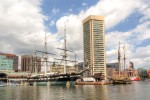 USS Constellation and Pride of Baltimore II